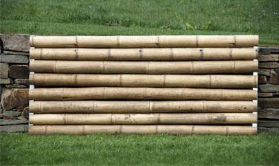 cloture gros bambou