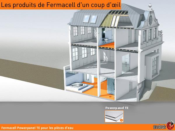 ecobati produit fermacell powerpanel h2o 1200x2000 12. Black Bedroom Furniture Sets. Home Design Ideas