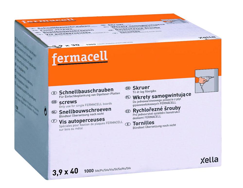 VIS FERMACELL 3.9X40  1000P 79047