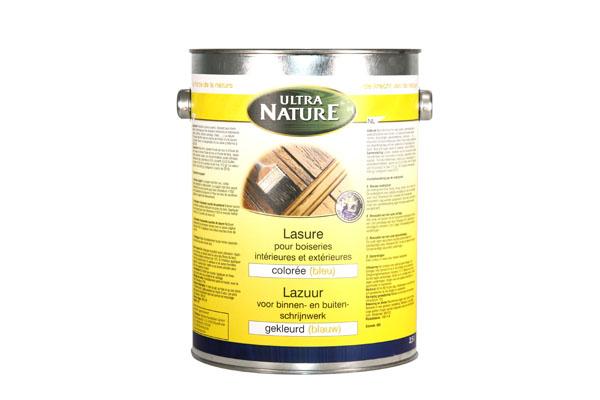 Ecobati famille lasure traitement du bois peinture for Lasure blanche exterieur