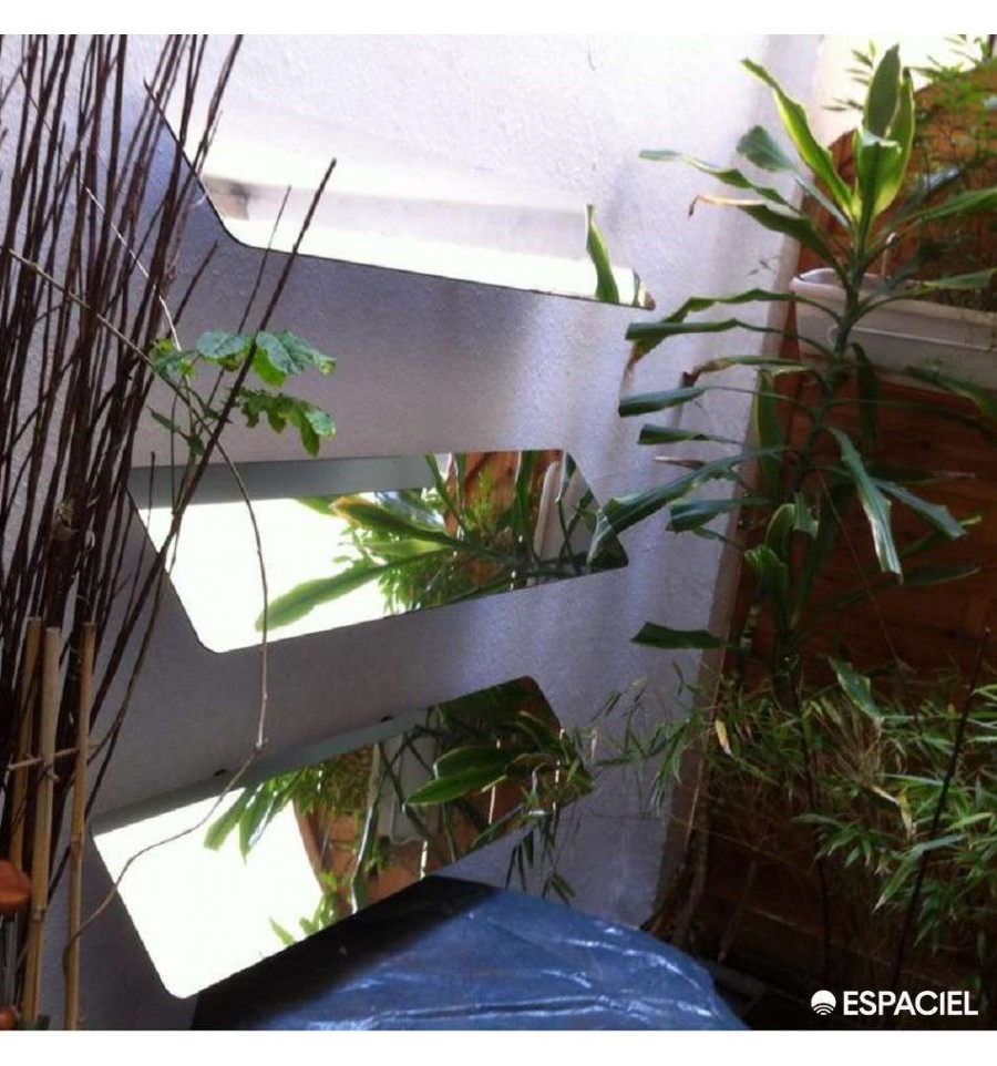 ecobati produit espaciel reflecteur exterieur mural120 x 25web. Black Bedroom Furniture Sets. Home Design Ideas