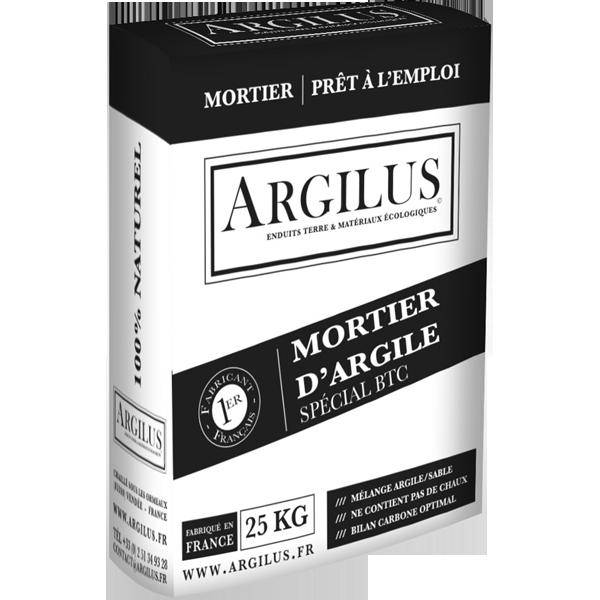 Ecobati Produit Mortier Argile Pour Brique 25 Kg Argilus