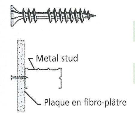Ecobati produit mdb vis grabber bs 35 kv 3 5 x 35 200pcs - Lafarge plaque de platre ...