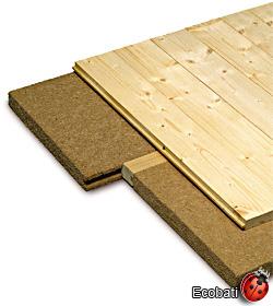 ecobati produit steico floor 40mm 380x1200. Black Bedroom Furniture Sets. Home Design Ideas