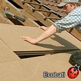 Steico special 100mm : isolant pour toiture et paroi en sarking