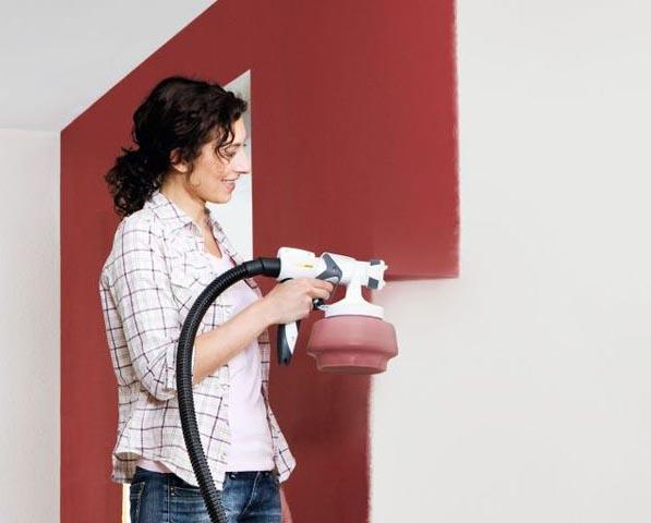 ecobati produit wagner pistolet mur laque lasure w665 hs. Black Bedroom Furniture Sets. Home Design Ideas