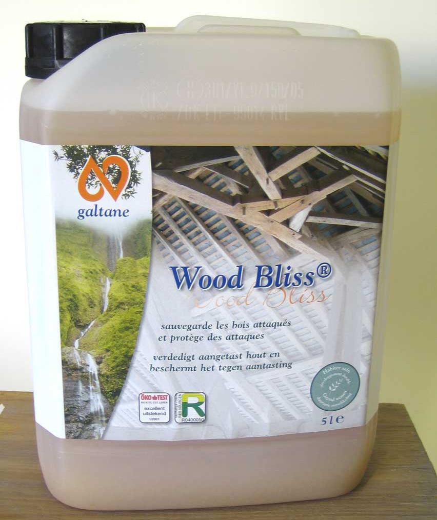 Ecobati Produit GALTANE WOOD BLISS 5L # Produit Pour Traiter Le Bois Contre Les Insectes
